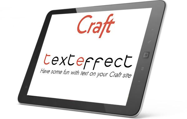craft texteffect plugin screenshot