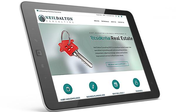 Neil Dalton Consulting website screenshot