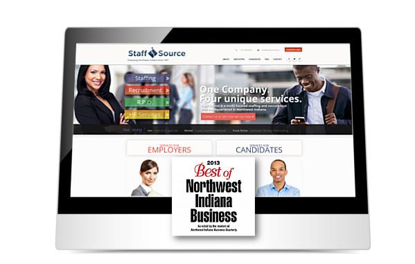 Staff Source website screenshot