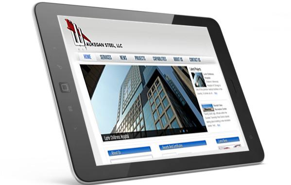 Waukegan Steel website screenshot